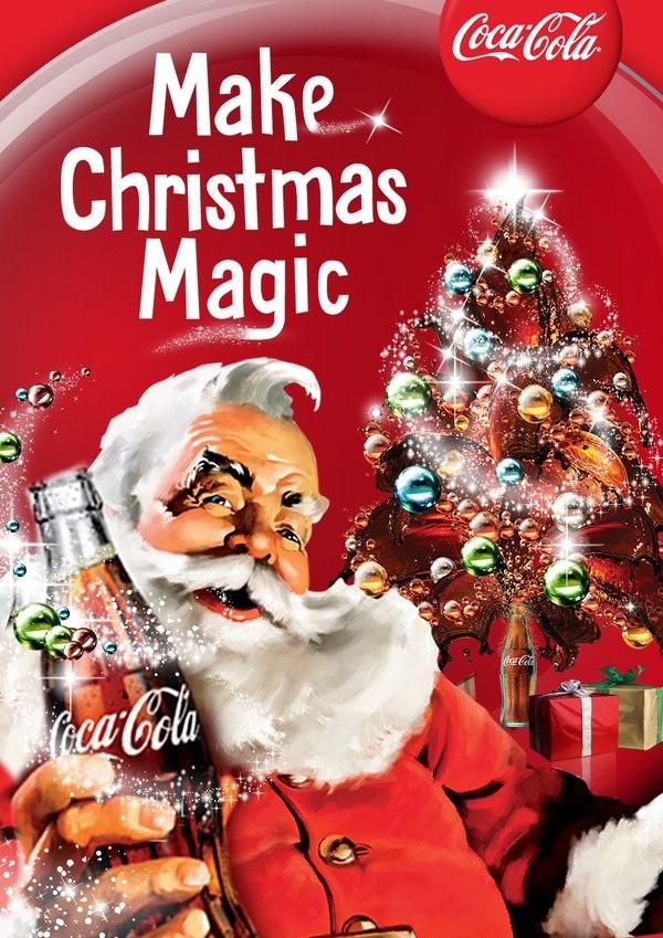 Coca cola santa claus