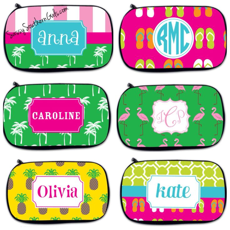 New to SassySouthernGals on Etsy: Monogrammed Makeup Bag Personalized Makeup Bag Personalized Cosmetic Bag Monogrammed Cosmetic Bag Make-Up Bag (25.00 USD)