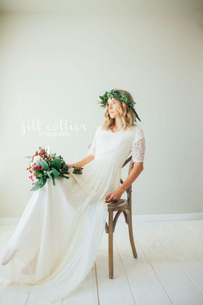 Leonora Dress by LatterDayBride | Modest Wedding Dress | Lace ...