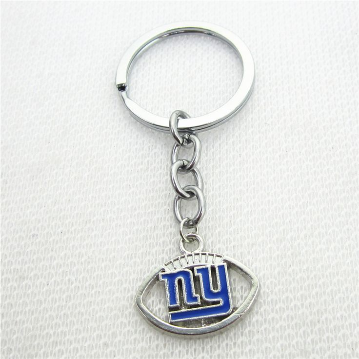 10pcs/lot Wholesale New York Giants Football sport Keychains Keyring Jewelry Gifts America Football keychains charms #Affiliate