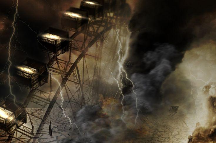Pokoli vihar - a kép illusztráció / Infernal #storm - the #picture #illustration Forrás/source: #pixabay Szerző/creater: Bonnybbx