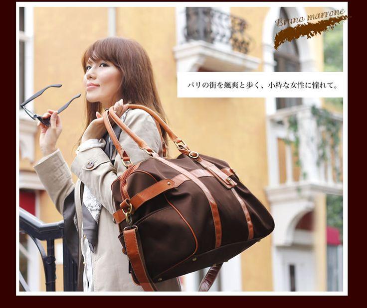 ボストンバッグ レディース 旅行バッグ 旅行かばん 旅行カバン :PY011528:代官山クロシェット - 通販 - Yahoo!ショッピング