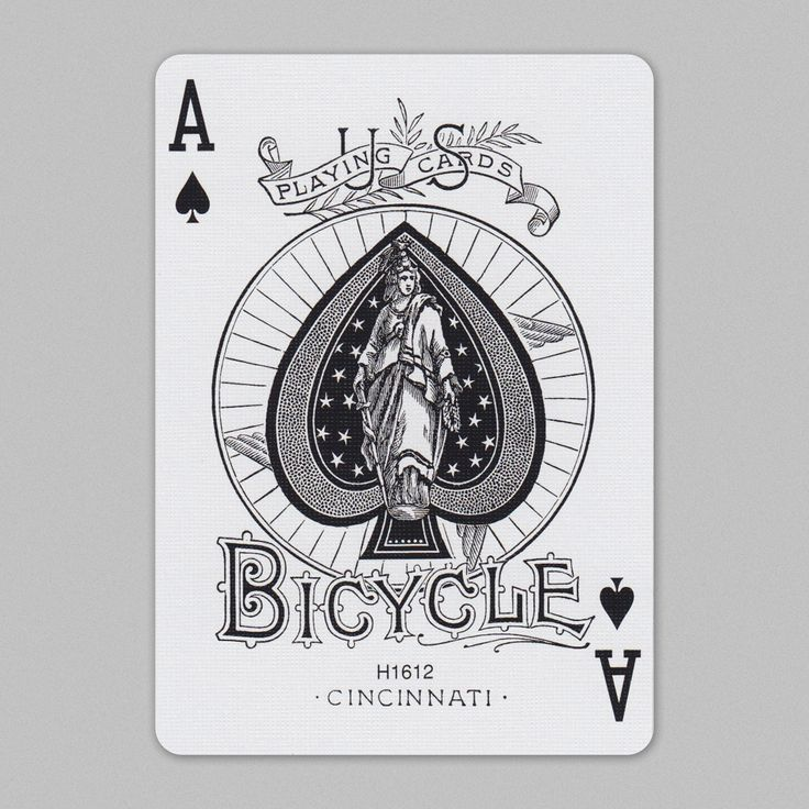 Bicycle playing cards aceofspades bicycle playing