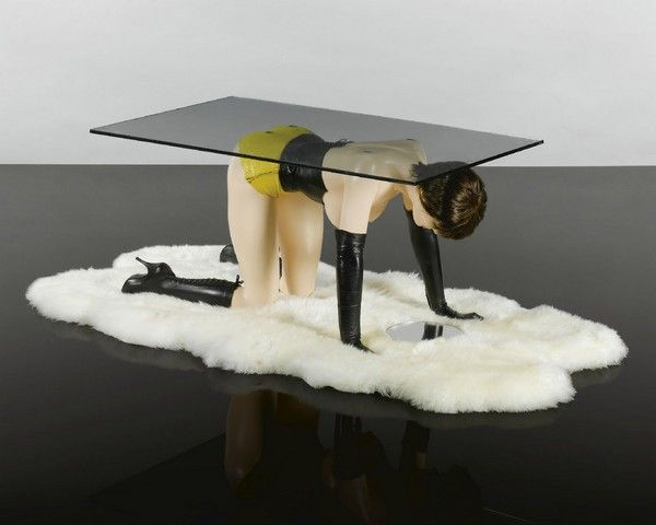 Allen Jones, Table   Sold For GBP At Sothebyu0027s Auction. (Human Furniture)  Forniphilia Is Term Was Originally Coined By Jeff Gord.