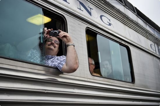 Train makes inaugural round trip: Reading Outer Station to Jim Thorpe | Reading Eagle - NEWS