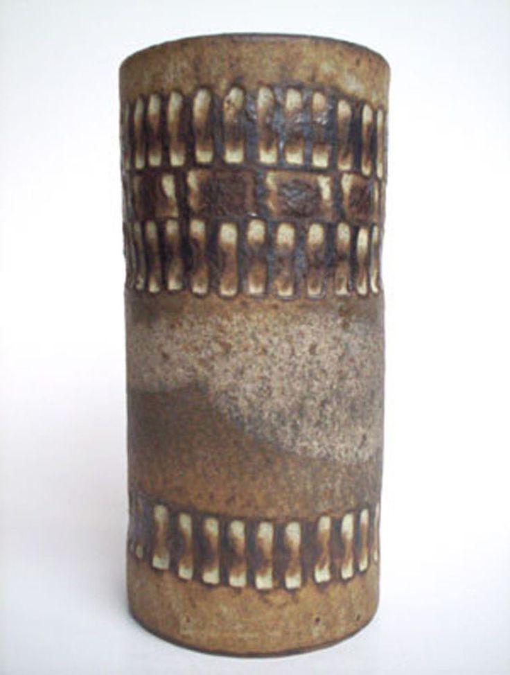 Keramik Vase Margarethenhöhe Essen Kunstkeramik Bauhaus art pottery 60s vintage