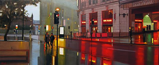 Michael John Ashcroft - Urban Gents Manchester- Oil - Painting entry - April 2015 | BoldBrush Painting Competition