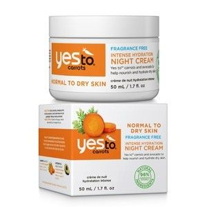 Yes To Carrots Intense Hydration Night Cream 50ml