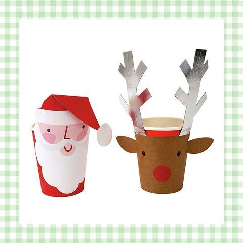 Leuke bekers van de kerstman en zijn rendier - geweldig voor kinderen met kerst! http://dekinderkookshop.nl/product/bekers-kerstman-en-rendier/