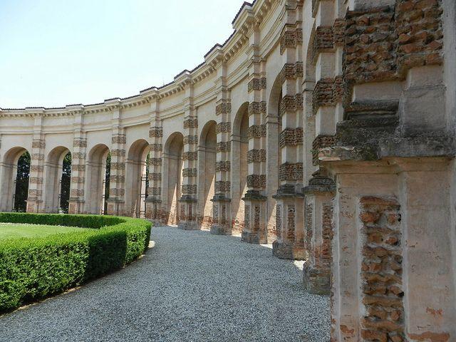 Palazzo Te- Arcade surrounding the forecourt. | Flickr - Photo Sharing!