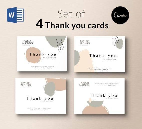Watercolor Thank You Card Business Stationery Business Card Etsy In 2021 Stationery Business Card Business Thank You Cards Thank You Cards