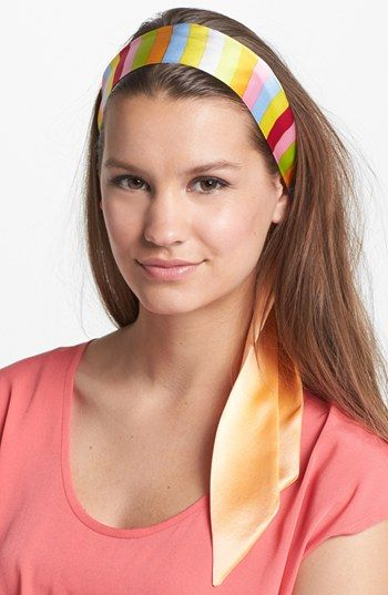 L. Erickson Silk Head Wrap available at #Nordstrom