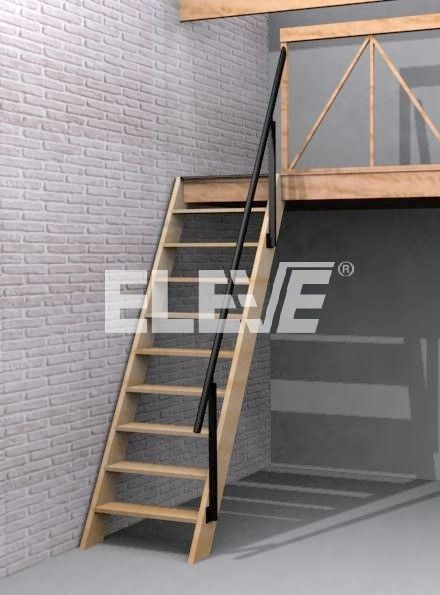 Escaleras para cuartos estrechos buscar con google escaleras pinterest lofts mezzanine - Como hacer una escalera plegable para altillo ...