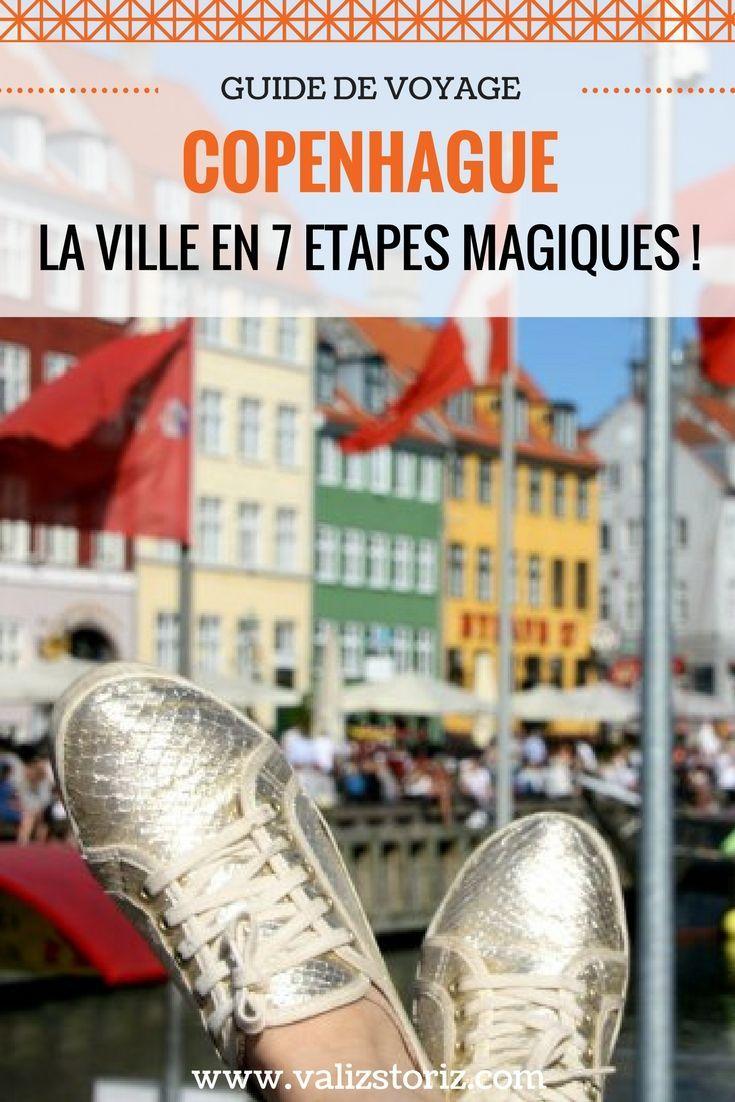 Enfin, j'ai mis les pieds à Copenhague ! J'ai donc loué un vélo pour la journée (tout blanc, avec une grosse panière à l'avant, ce qui m'a clairement donné des allures de Polly Pocket pour le reste de la journée). Je me suis parée de mes plus beaux atours… des habits roses et des baskets dorées (ah oui, quand même… !). Mais pour passer une journée de princesse de conte de fée, il faut bien ça ! C'est parti pour une journée féerique à Copenhague ! Carnet de voyage | récit | Danemark |