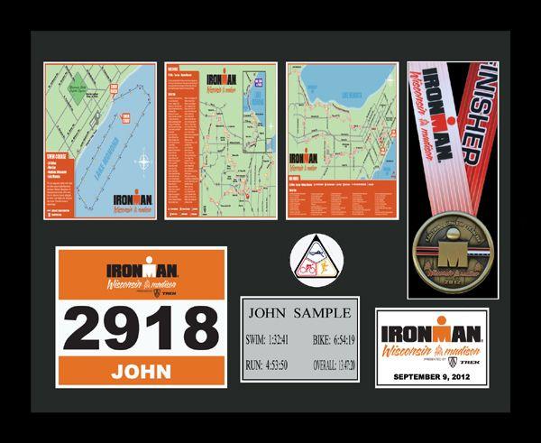 2015 Ironman Wisconsin Plaques & Frames | Fond Memories Graphics