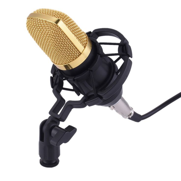BM-700 mikrofon Condenser Wired Microphone for Computer Network sing/Recording/Chat/Video Conference/Games microfone condensador #Affiliate