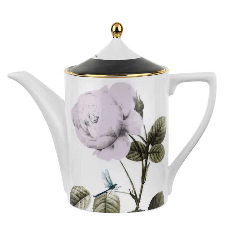 More tea, vicar?  How could you refuse when it's poured from this gorgeous teapot from Portmeirion's Rosie Lee range with Ted Baker!