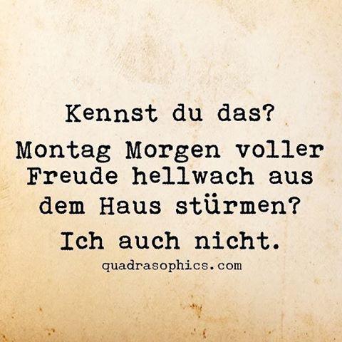 #montag #morgens #aufstehen