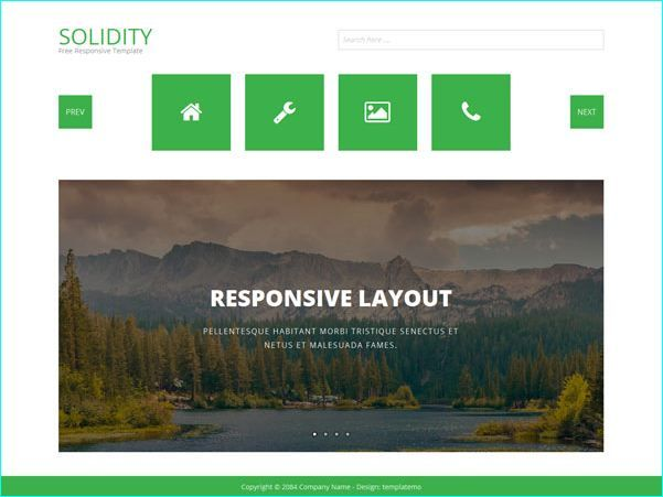24 Free Bootstrap HTML Templates For Designers