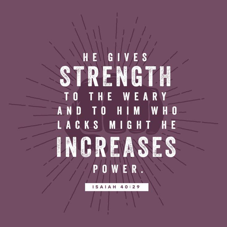 Isiah 40:29
