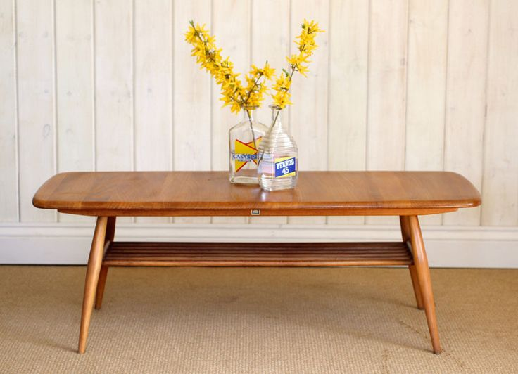 Vintage Retro Ercol Coffee Table Mid Century - Great Condition