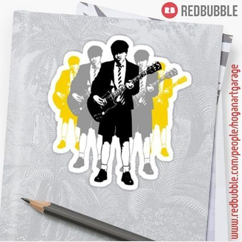 Sold!!! ...thanks to the person in São Paulo, Brazil who just bought this little pop-art sticker called 'Taking the Lead' from my Redbubble webshop!! #redbubble #thanks #obrigado #lead #leader #leadguitar #acdc #angus #acdcfan #angusyoung #popart #guitar #guitarist #sticker #instasticker #rock #music #instarock #backinblack #takethelead #instametal #rocklegend #rockicon #redbubblestickers #stickers #instastick