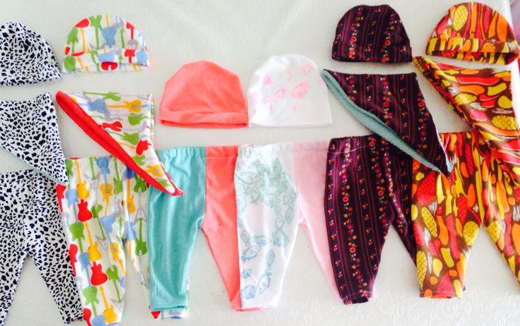 Baby leggings/hats/dribble bibs by Emily O'regan :-)
