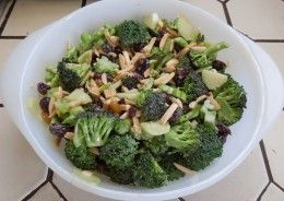 This broccoli salad recipe will work as is for all blood types except Type AB, and there is a simple fix to make it work for AB, as well.