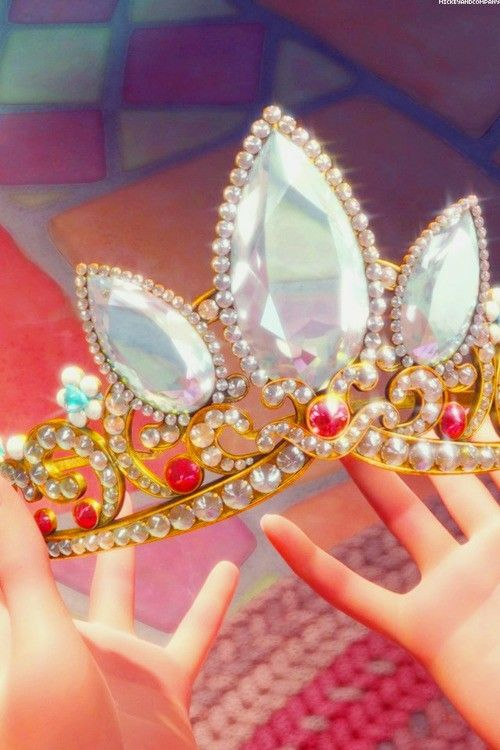 Tangled. Rapunzel's crown reference. So beautiful :')