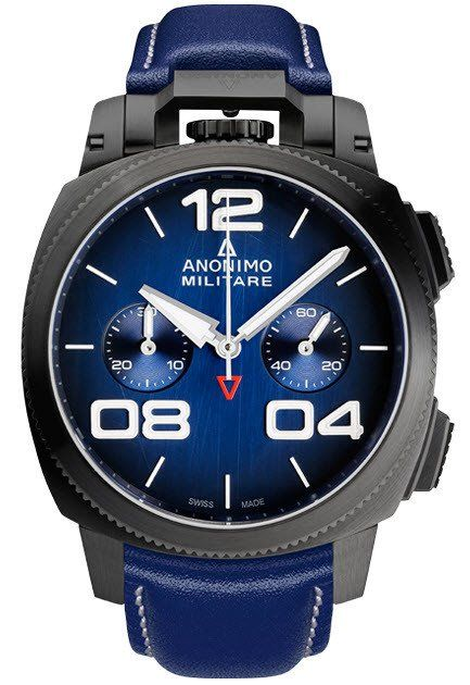 Anonimo Watch Militare Classic Chrono Mens #bezel-fixed #bracelet-strap-leather #brand-anonimo #case-depth-14mm #case-material-black-pvd #case-width-43-4mm #chronograph-yes #date-yes #delivery-timescale-1-2-weeks #description-done #dial-colour-blue #gender-mens #luxury #movement-automatic #official-stockist-for-anonimo-watches #packaging-anonimo-watch-packaging #style-dress #subcat-militare-classic-chrono #supplier-model-no-am-1120-02-003-a03 #warranty-anonimo-official-2-year-guarantee…