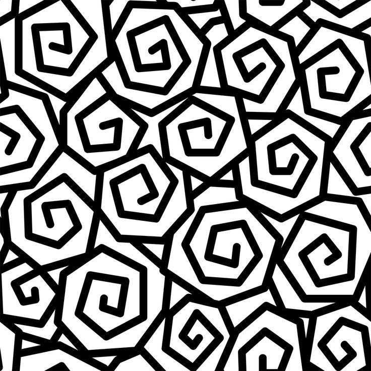 Черно белый рисунок текстура