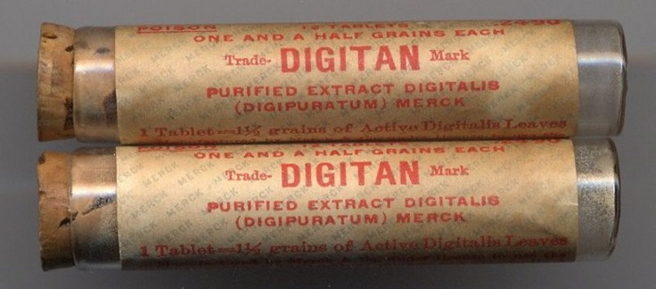 Merck Physician's SamplesDigitalis Leavesc1920
