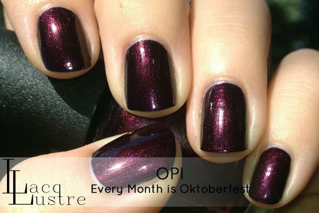 OPI Every Month is Oktoberfest...in love with this color.