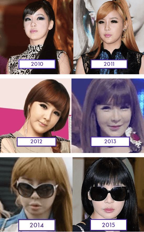 8 Best Images About K Pop Idols Before Amp After On