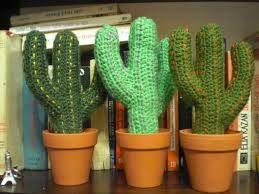 Resultado de imagen para cactus crochet