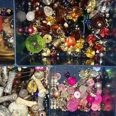 Beads, beads, glorious bead, just one of the items to be found at the next event.