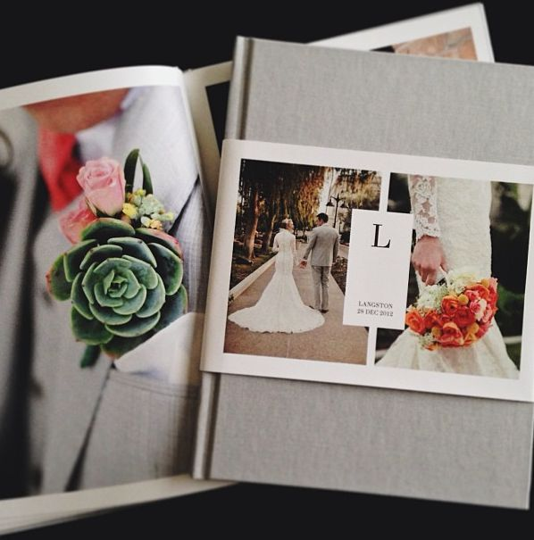 Wedding Photo Book With Partial Dust Jacket Artifact Uprising Feature By Sarah Terry