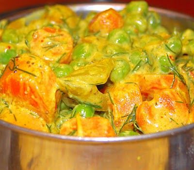 indian spiced carrot dish