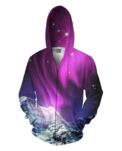 Sexy Zip Up Hooded Sweater in all over print galaxy crewneck sweatshirt named by Star Wars planet in space by RageOn! and Nick Sanchez for Let's Rage Clothing!