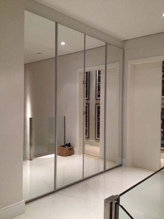 Closets con puertas de espejo cosas pinterest puerta - Espejos para armarios ...
