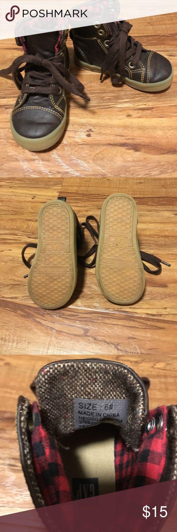 Gap toddler boy lumberjack boots Size 6 toddler boy lumberjack boots GAP Shoes Boots