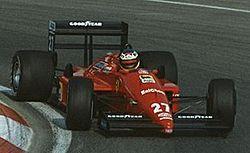Nacionalidade   Itália Italiano Local de nascimentoMilão Data de nascimento23 de dezembro de 1956 Local de falecimentoOberspreewald-Lausitz Data de falecimento   25 de abril de 2001 (44 anos) Registros na Fórmula 1 Anos1981-1994 Times6 (Tyrrell, Minardi, Larrousse, Arrows, Scuderia Italia e Ferrari) Campeonatos0 (2º em 1985) Pontos186.5 Voltas mais rápidas5 Primeiro GPItália Grande Prêmio de San Marino de 1981 Último GPAustrália Grande Prêmio da Austrália de 1994…