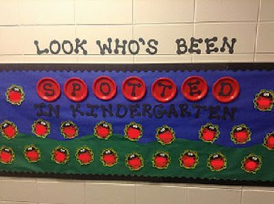 Dr. Clements' Kindergarten : Ladybug Classroom Door and Bulletin Board