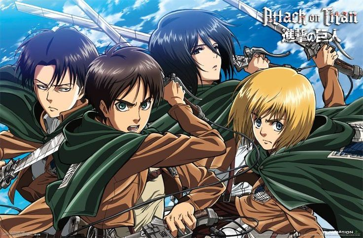 Attack On Titan - Swords Poster 23x34 RP14017 UPC88266304019 Used: Studio or manufacturer original not a reprint. Used in great condition, as with any used post