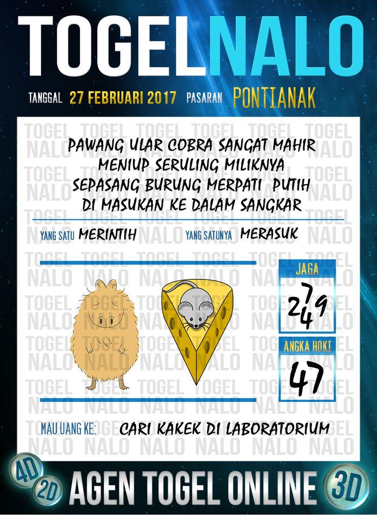 Lotre Taysen 4D Togel Wap Online Live Draw 4D TogelNalo Pontianak 27 Februari 2017