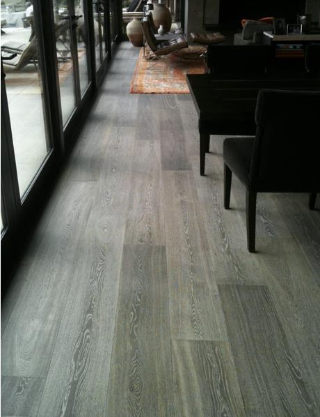 French Oak Floors - Love the Gray colors