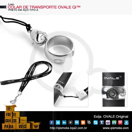COLAR DE TRANSPORTE Cigarros eletrônicos eGoC/ T-OVALE Luxo