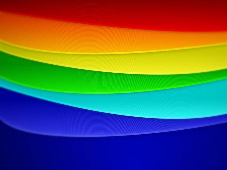 Rainbow Bedroom Pinterest