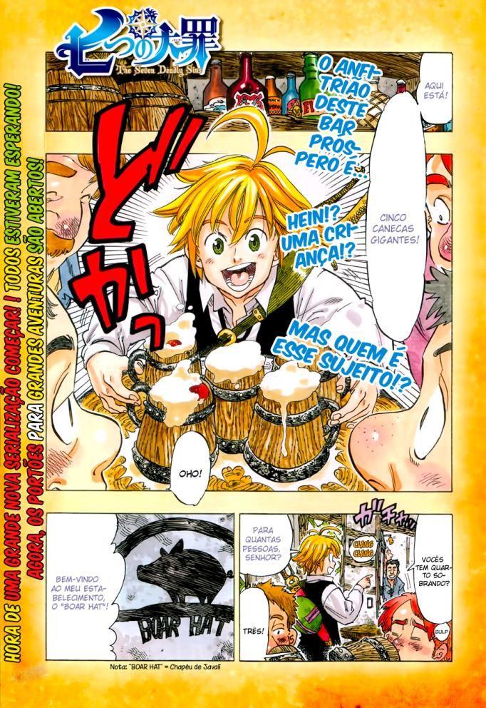 Pin de Allen em Nanatsu Nanatsu, Manga, Nanatsu no