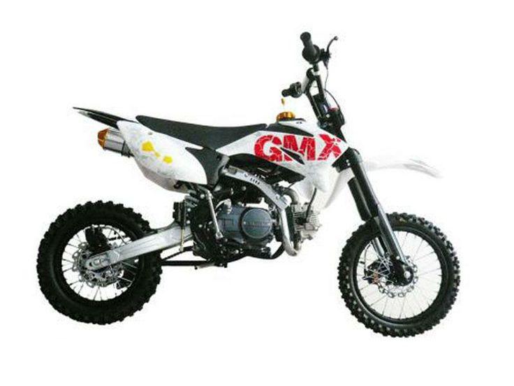 GMX Devil White 125cc Dirt Bike